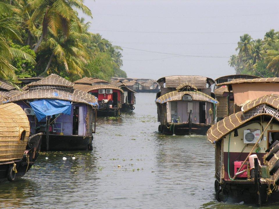 На кораблике в Керале1