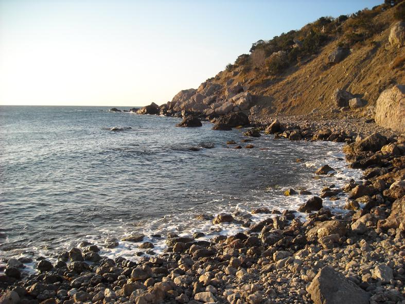 Море на мысе Сарыч