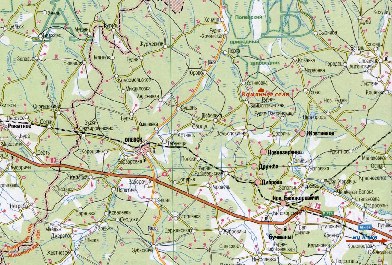 карта фрагмент
