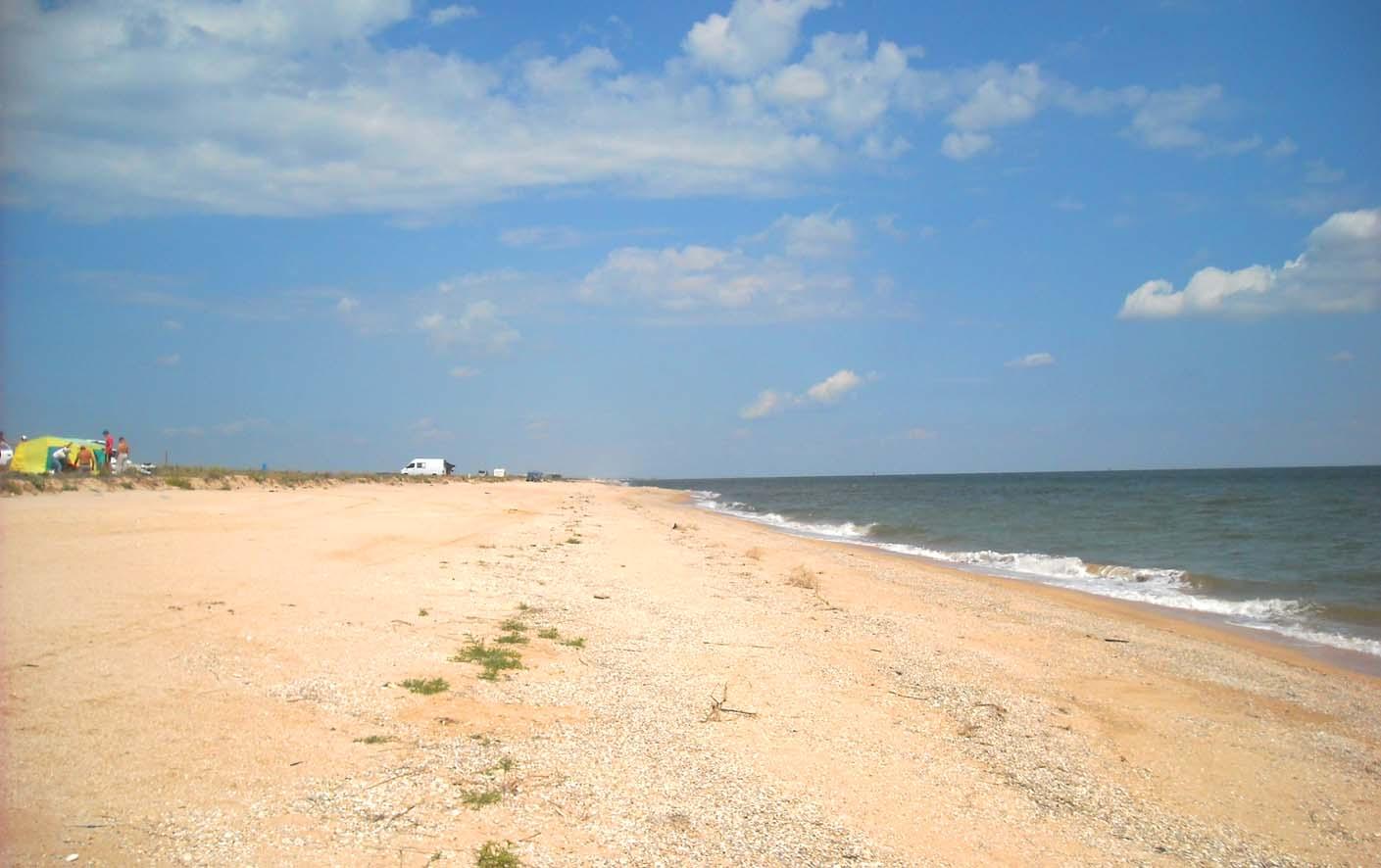 Арабатская стрелка фото на пляже