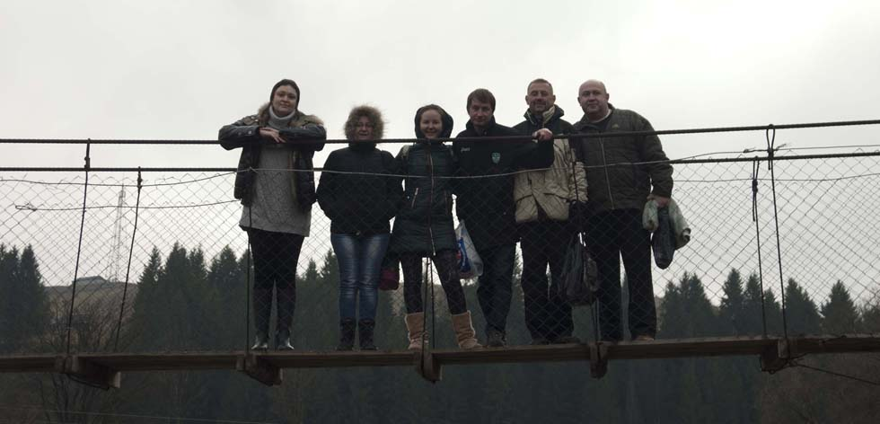 Над Черемошем на мосту