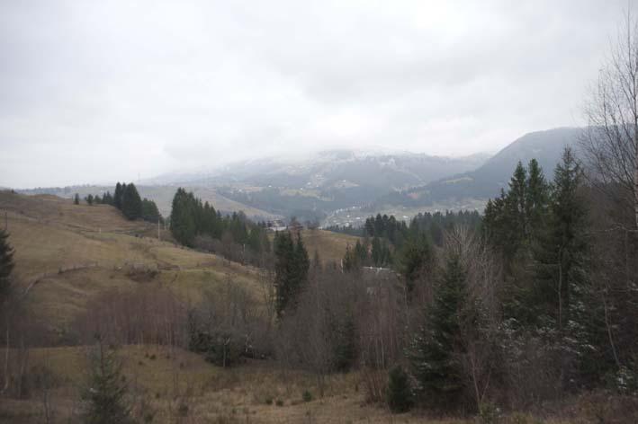 Пейзаж горы 1-й день