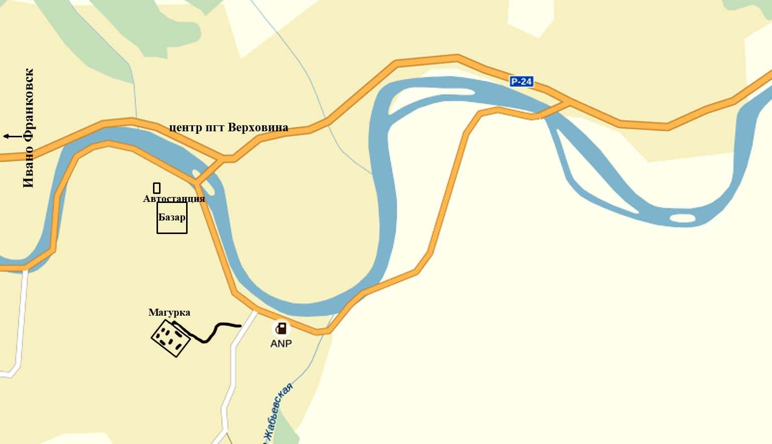 карта Магурка
