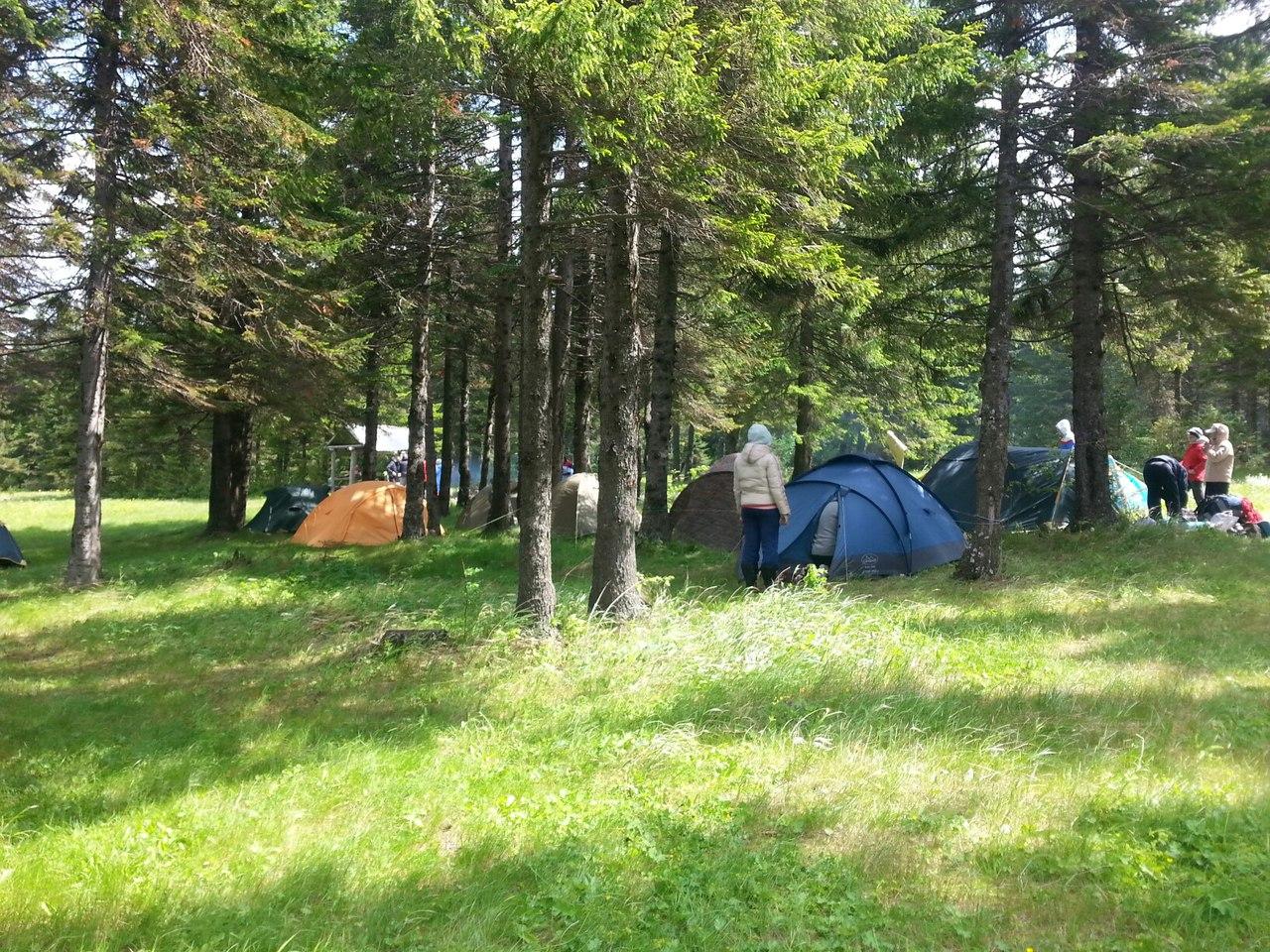 Лагерь на Зюраткуле