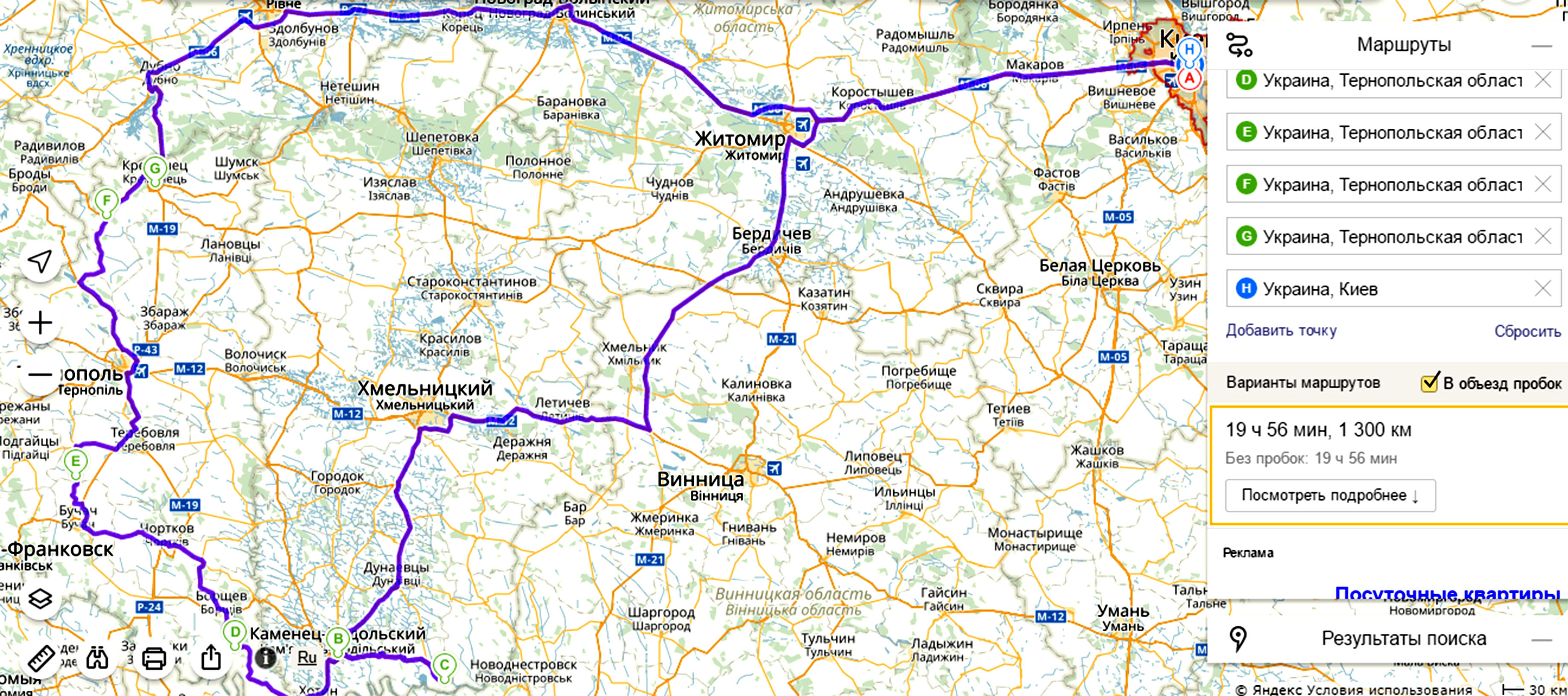 маршрут по местам силы Тернополя